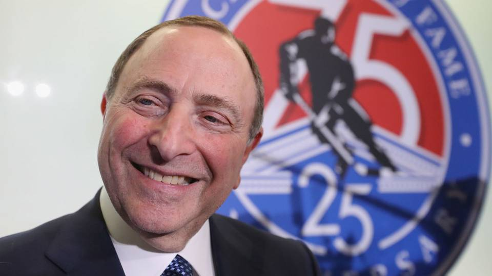 2018 Hockey Hall of Fame inductee Gary Bettman: 'I hope they remember that the game got bigger, that it got stronger'