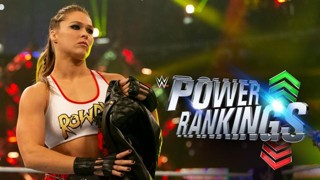 WWE パワーランキング レッスルマニア34 ロンダ・ラウジー