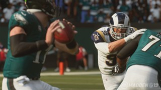 Madden NFL 19 Eagles Rams