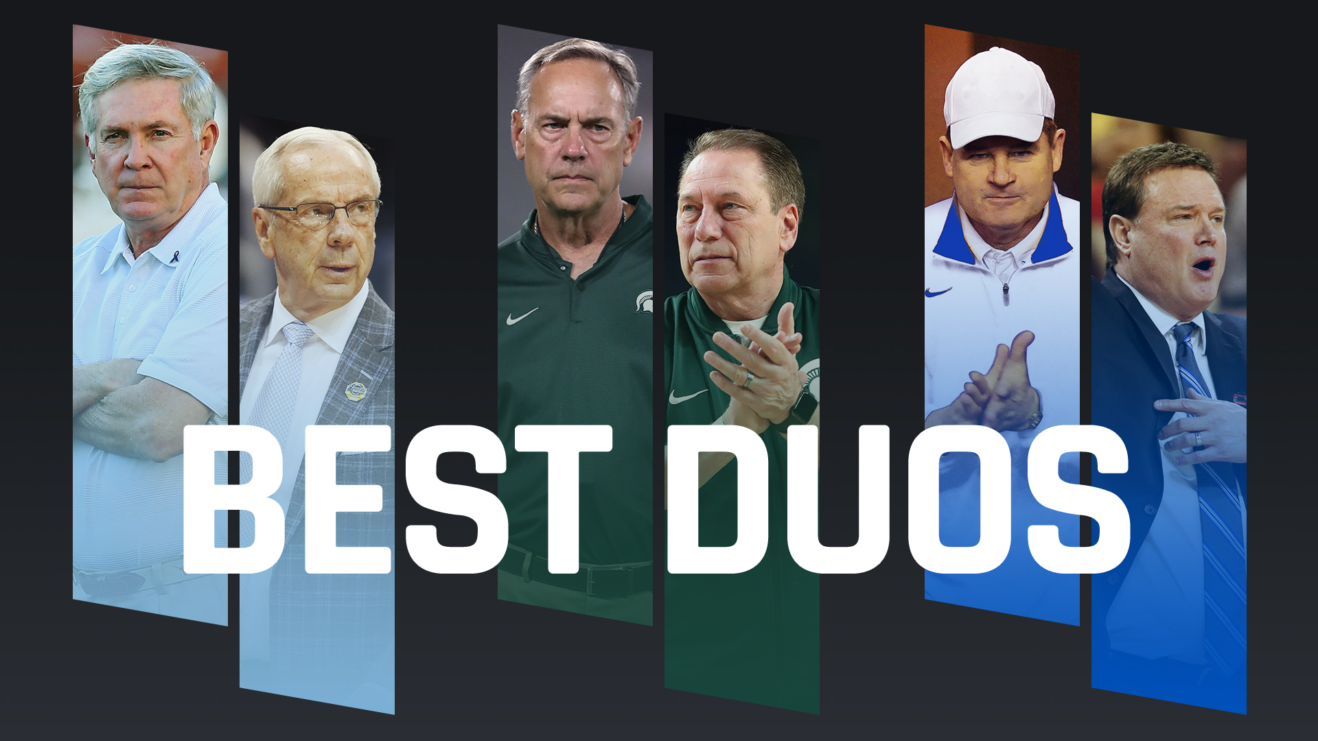 Ranking college sports' top football/basketball coaching combos