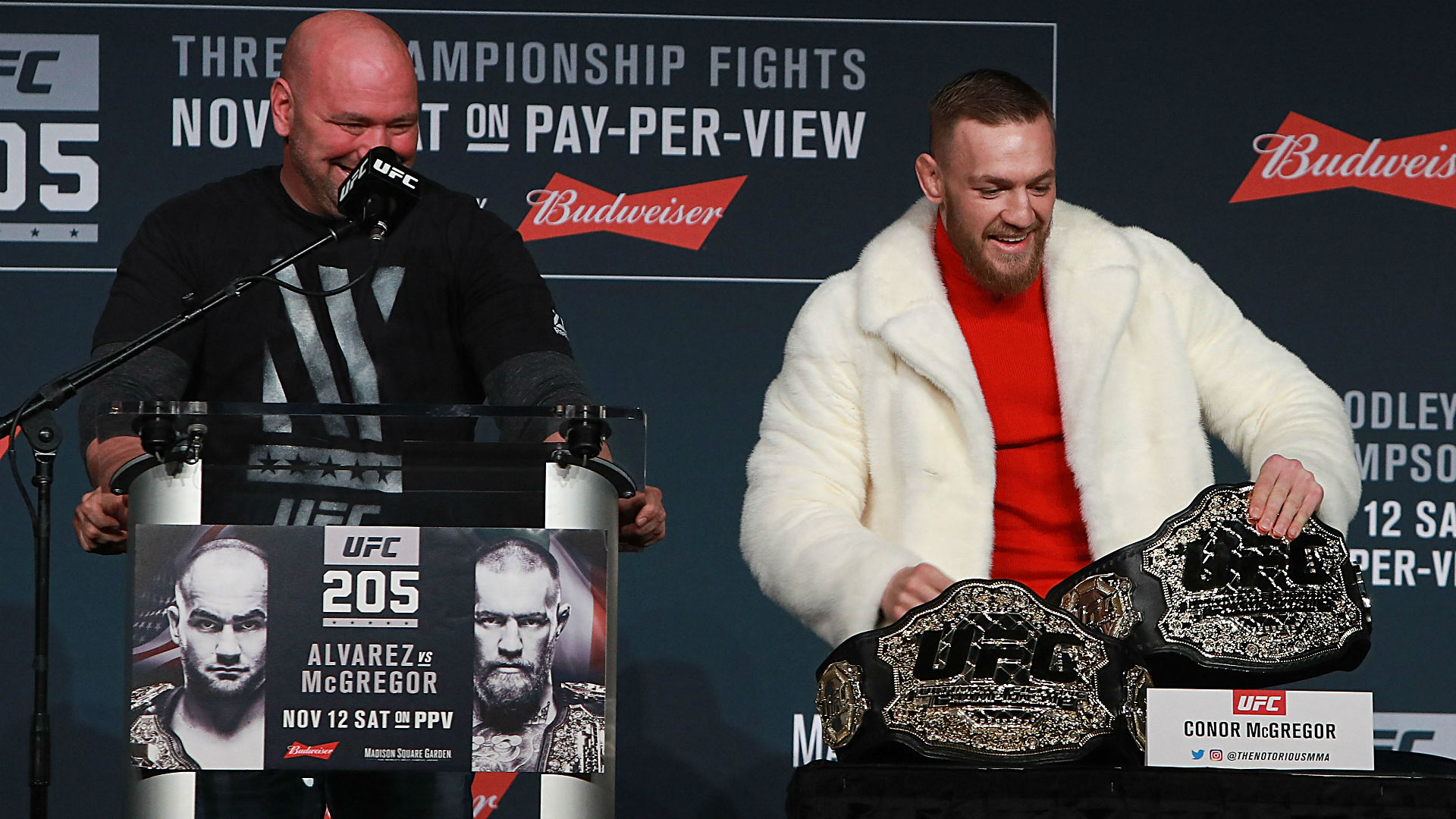 UFC's Dana White says McGregor would destroy Mayweather