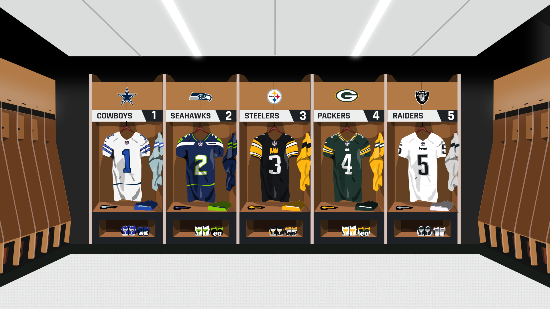new concept aefb2 49183 NFL uniform rankings: The best and worst looks in the league ...
