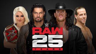 RAW #1287 25th Anniversary