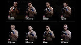 EA Sports UFC 2 Flyweights