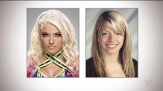 WWE スーパースター 高校時代 アレクサ・ブリス