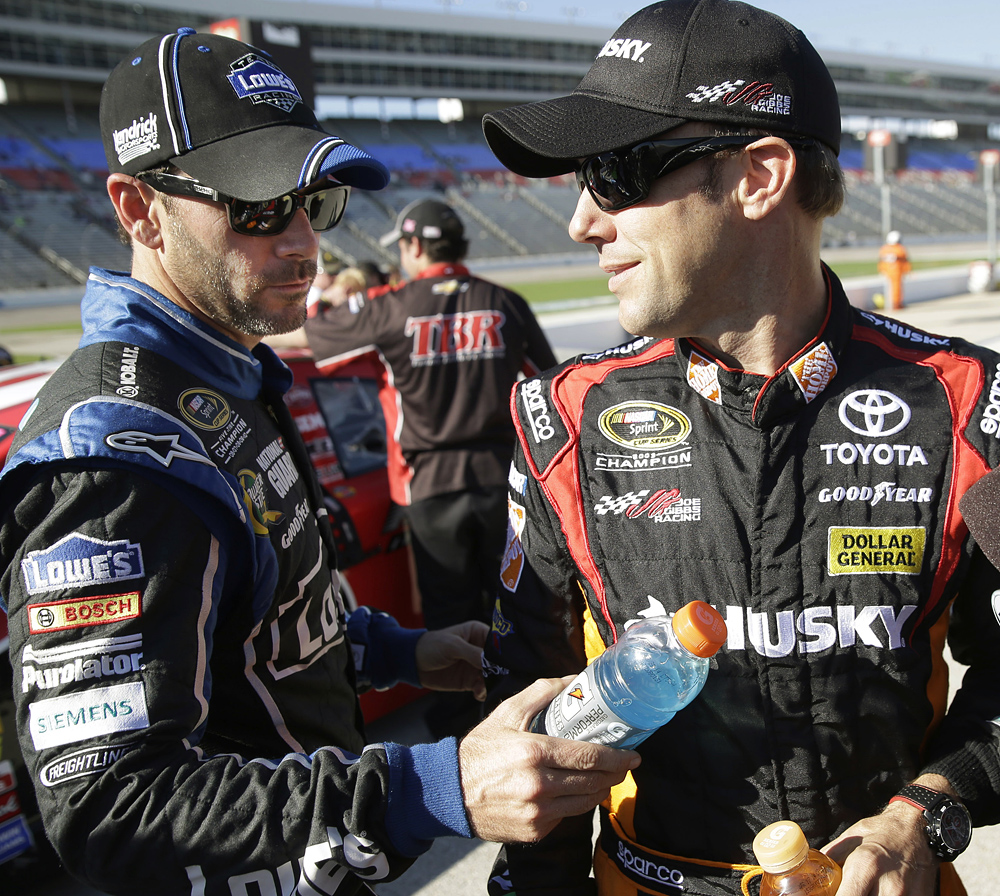 Pressure Mounts As Jimmie Johnson Carries Chase Lead To