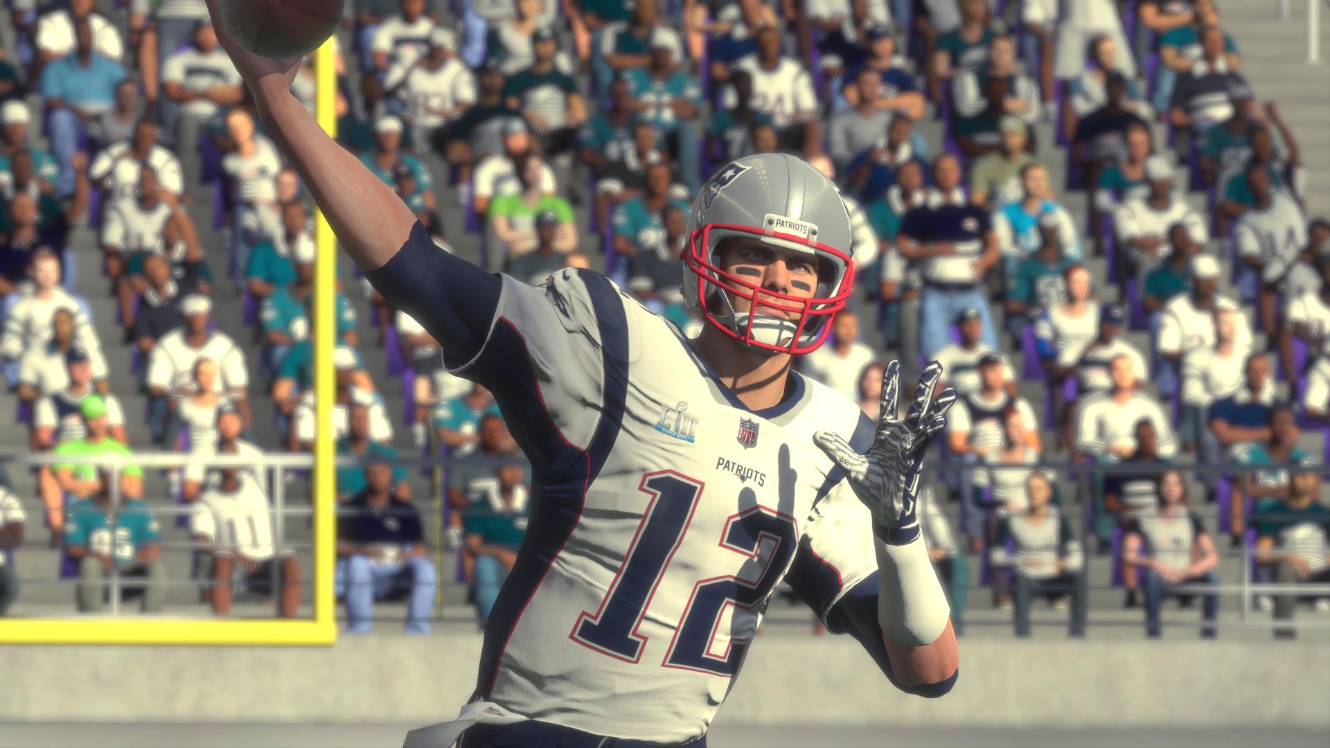 Tom Brady Madden NFL 18 Super Bowl 52