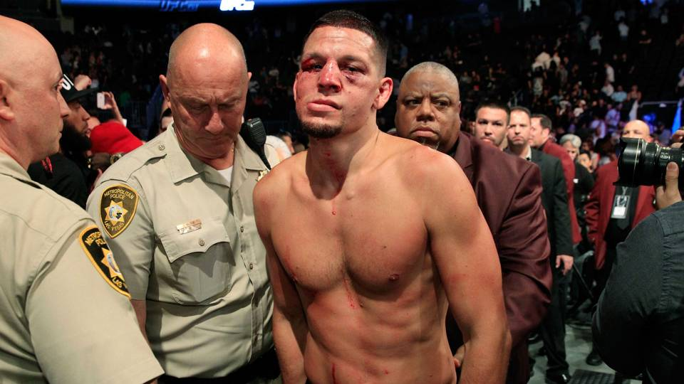 Nate Diaz on UFC future: 'I don't want to fight anybody'