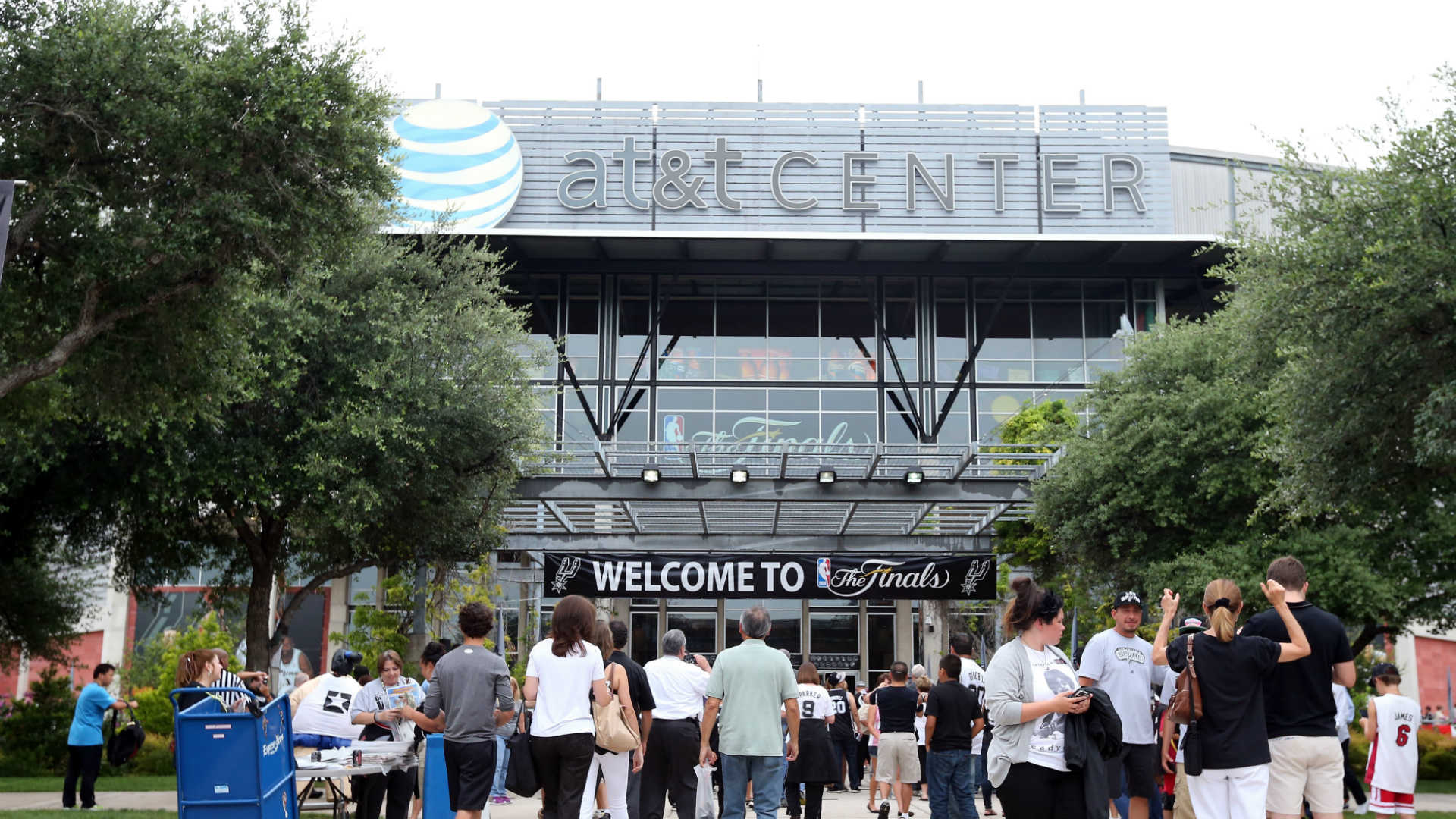 reputable site d4879 27a0a Spurs announce major upgrades to AT&T Center | Sporting News