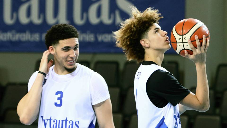 Watch live stream of LaMelo, LiAngelo Ball (plus coach LaVar) in Lithuania for Big Baller Brand Challenge