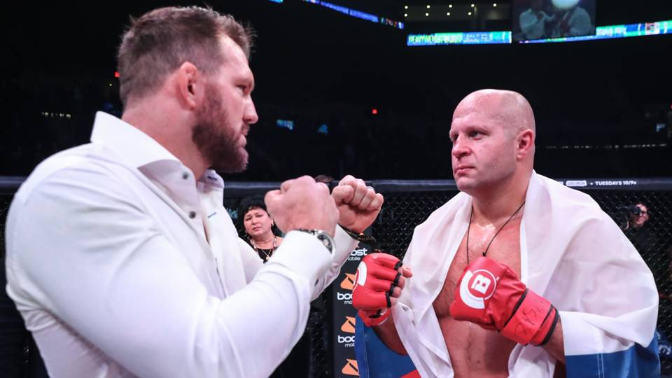Bader won't get anything from Fedor during grand prix promo, but that will change in cage