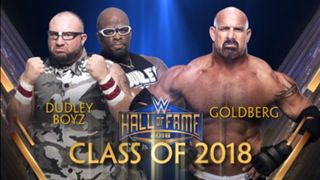 Dudley Boyz join the WWE Hall of Fame Class of 2018