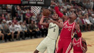 NBA 2K16 Christmas Spurs Rockets