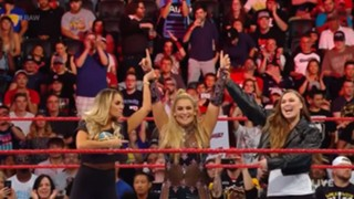 WWE ロウ #1318 ロンダ トリッシュ