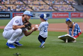 kershaw and his kids