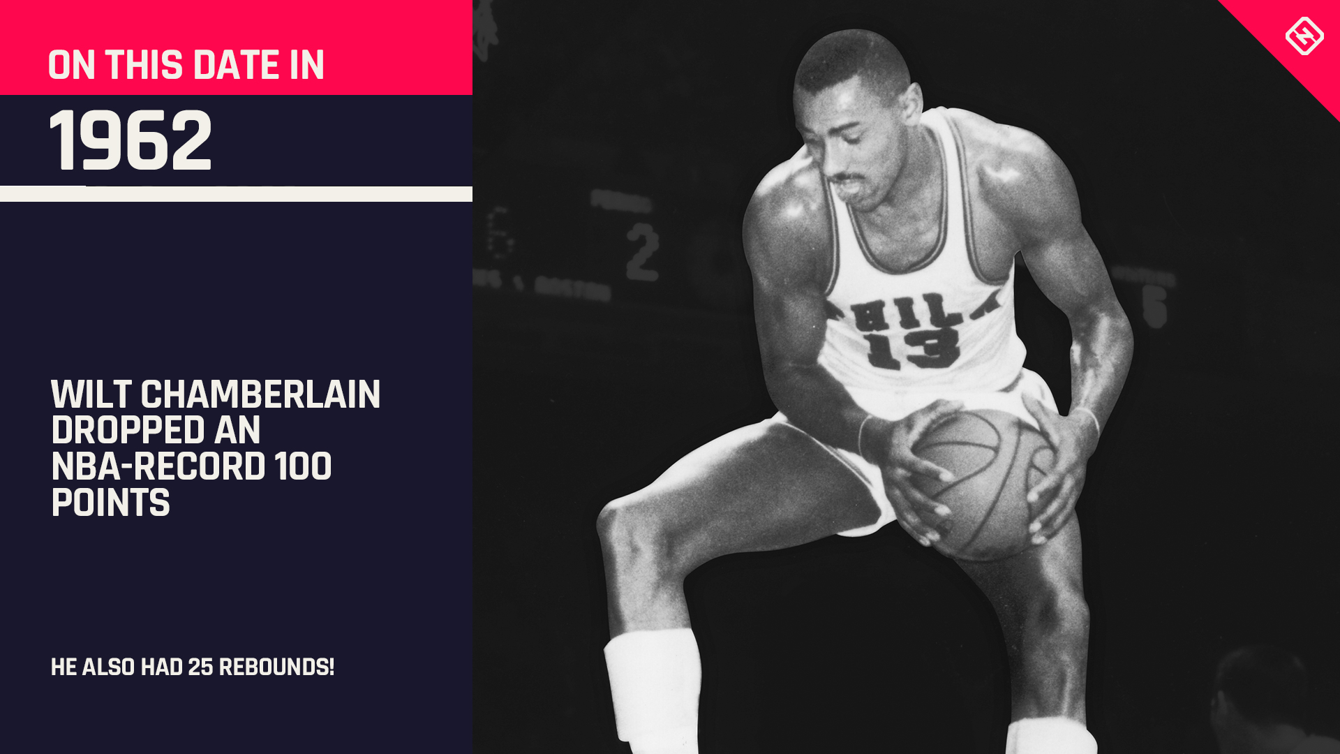 572ca0e86 Five things you didn t know about Wilt Chamberlain s 100-point game ...