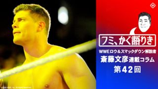 WWE, ロウ, スマックダウン, 解説, 斎藤文彦
