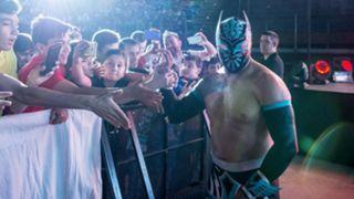 WWE シン・カラ W杯 特製マスク