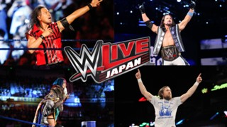 WWE Live Japan 東京公演 中邑真輔 アスカ AJスタイルズ