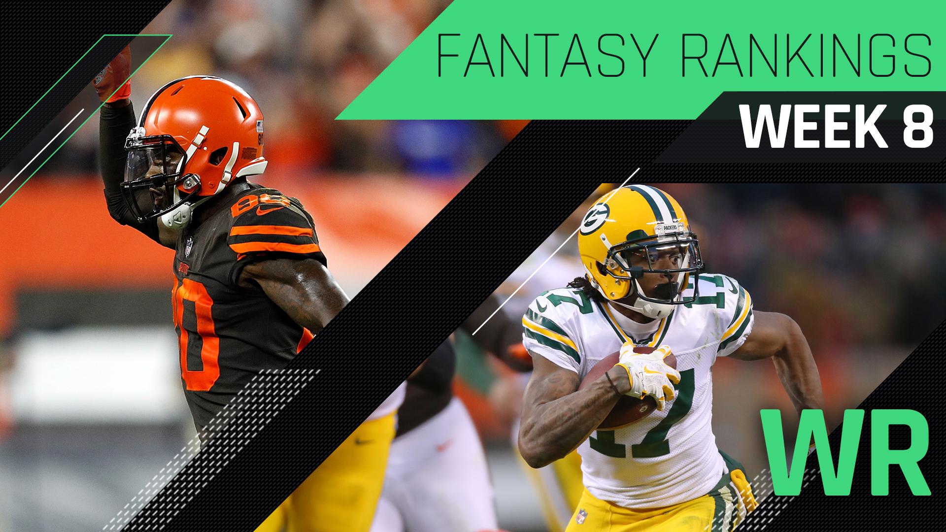 fbc6d9a94cf Week 8 Fantasy Rankings: WR | Sporting News