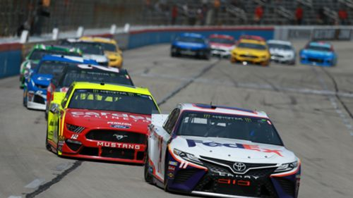 NASCAR results at Texas: Denny Hamlin claim victory at O'Reilly Auto Parts 500 | Sporting News