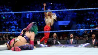 WWE アスカ カーメラ スマックダウン 女子王座