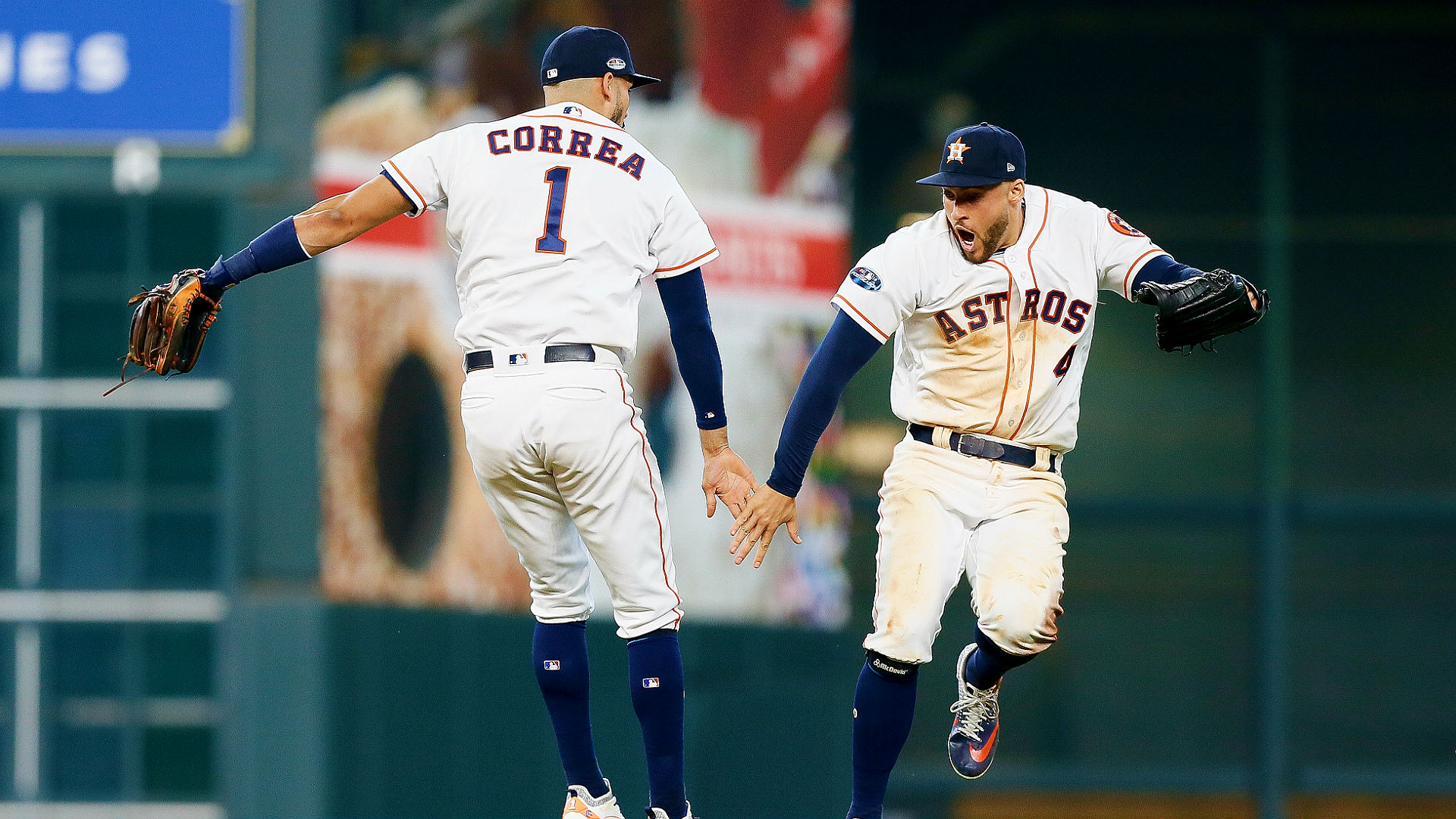Astros vs  Indians results: Astros showcase power, take ALDS