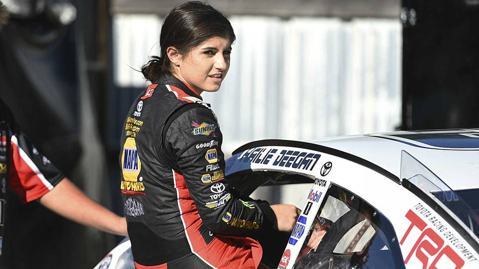Hailie Deegan not satisfied with historic run in Las Vegas K&N race