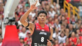 バスケットボール日本代表 八村塁