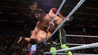 WWE バックラッシュ IC王座戦 セス・ロリンズ ザ・ミズ