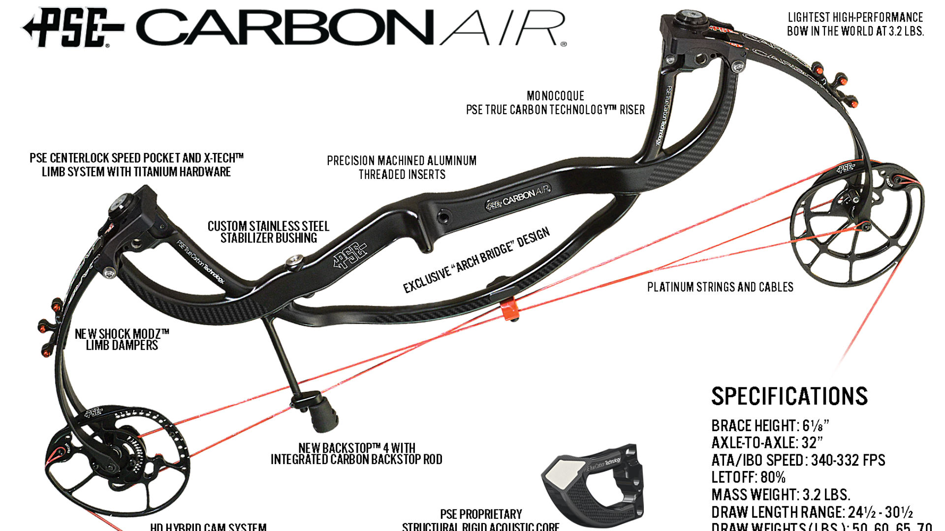 PSE releasing new, lightweight Carbon Air compound bow