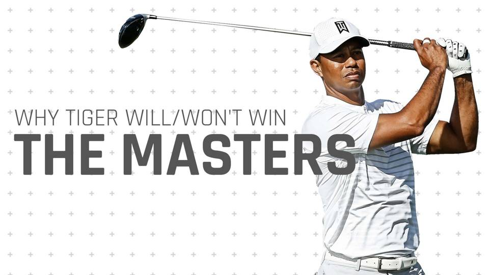The Masters 2018: Why Tiger Woods is a long shot, not the favourite, at Augusta National