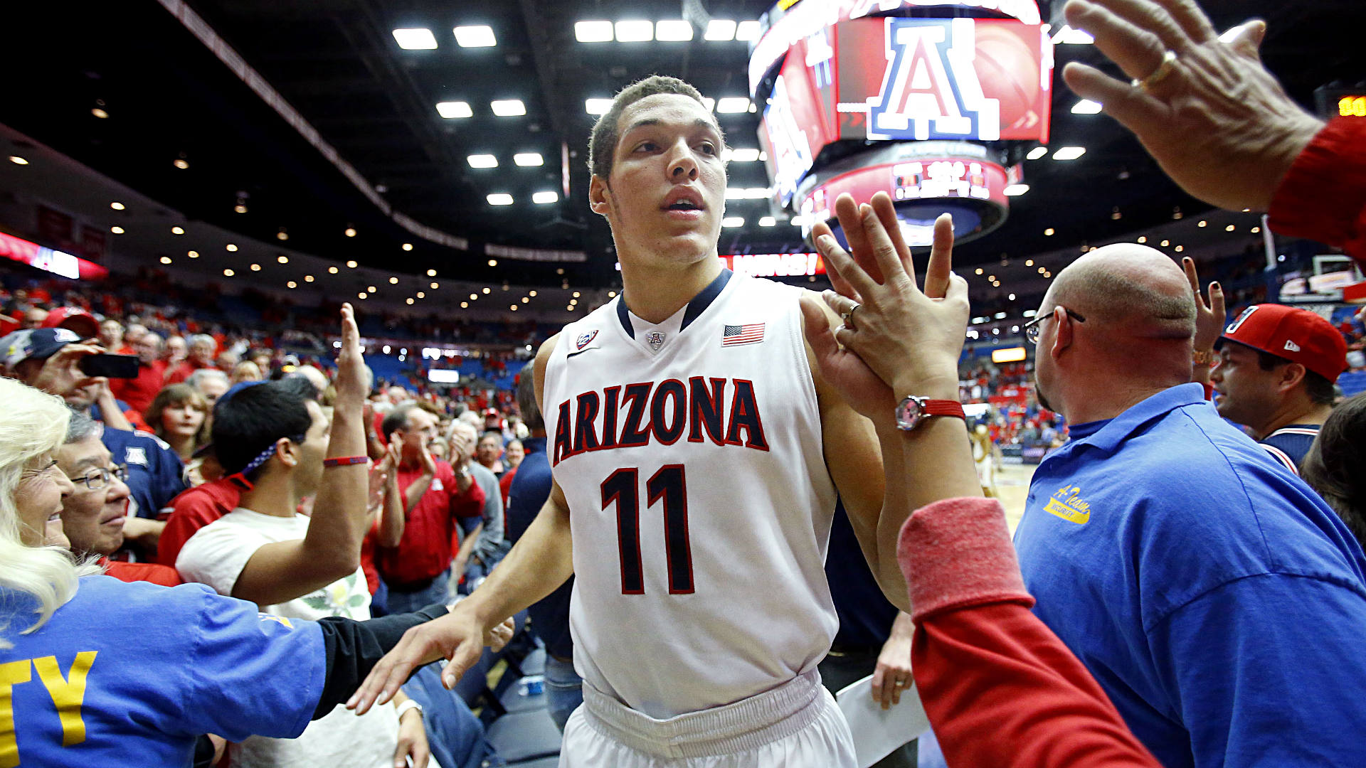 low priced b48da 67d4a Arizona announces Aaron Gordon, Nick Johnson entry to 2014 ...