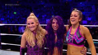 WWE PPV エボリューション サーシャ・バンクス