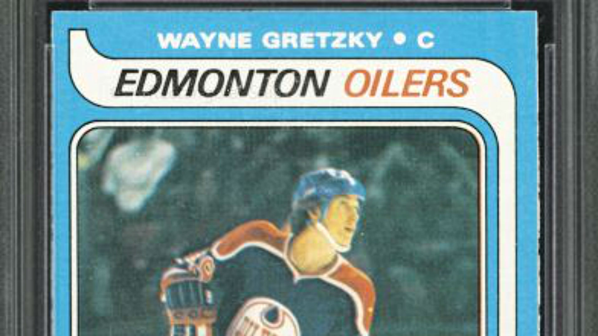 Wayne Gretzky Rookie Card Imperfections And All Sells For Record