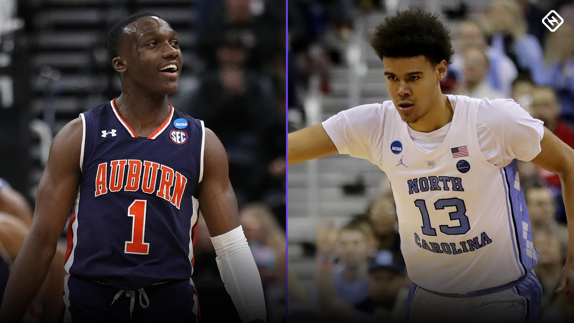UNC vs  Auburn: Picks, predictions for March Madness Sweet 16