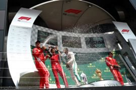 F1 イギリスGP 2018年 表彰台