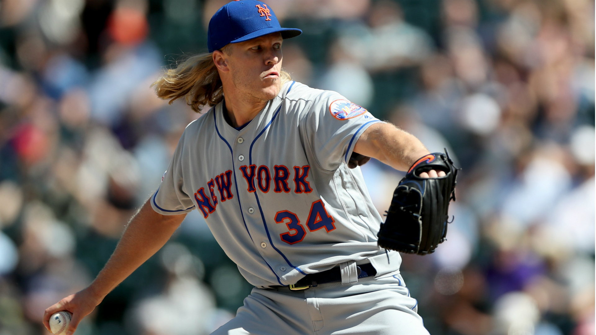 Mets' Noah Syndergaard at loss over misguided slider, says he needs 'Dr. Phil or something'