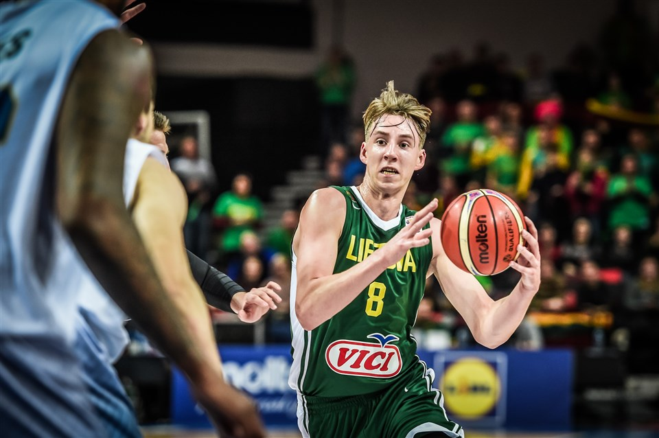 Arnoldas Kulboka FIBA Lithuania