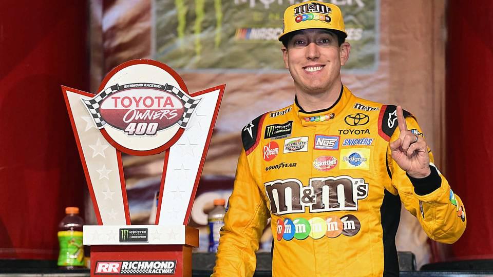 NASCAR at Talladega: Kyle Busch's win streak hinges on unpredictable superspeedway