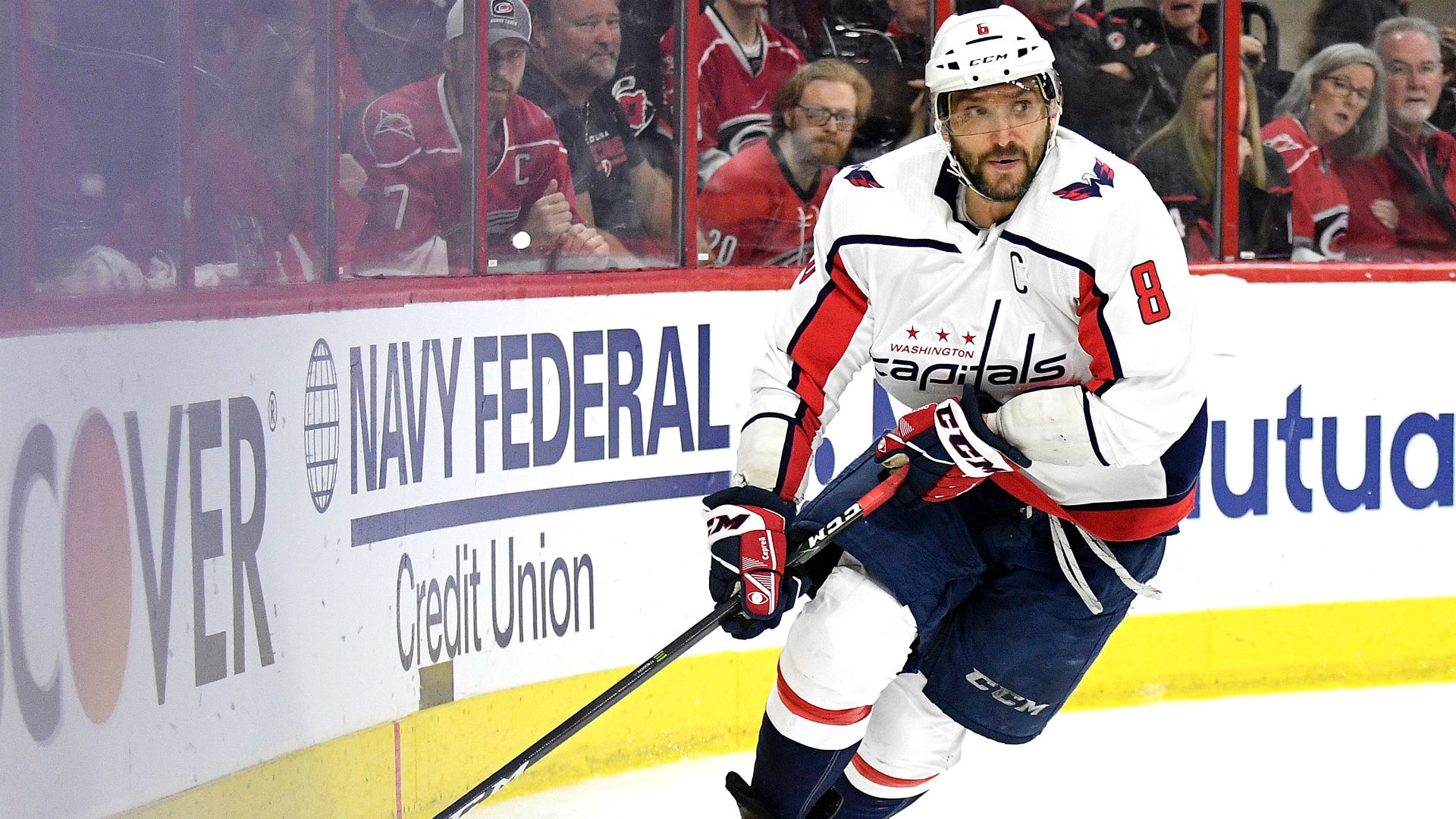NHL playoffs 2019: Controversial goalie interference call on Alex Ovechkin paves way to Game 7