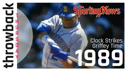 458161b550 SN Throwback Thursday: Tracking Ken Griffey Jr.'s meteoric rise from No. 1  pick to MLB star | Sporting News