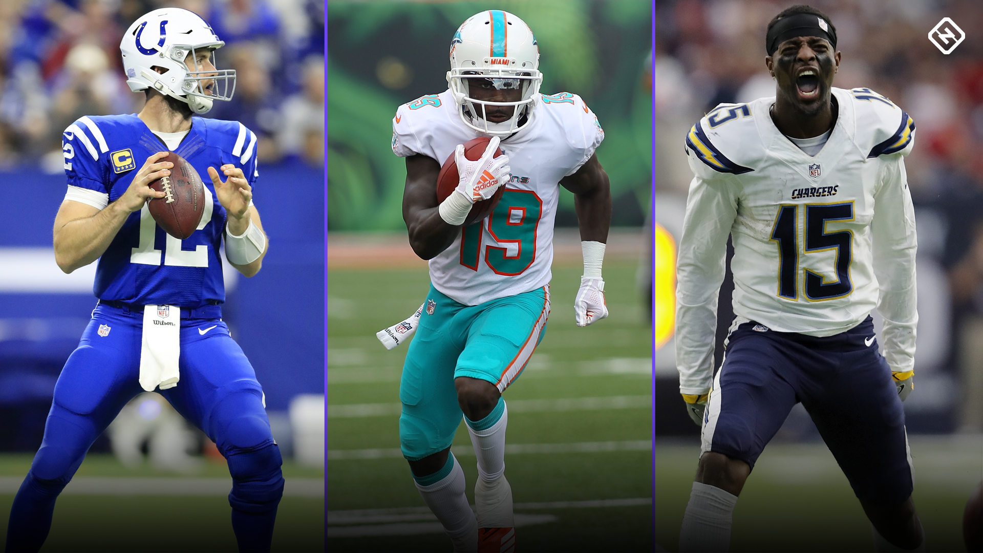 Fantasy Football Updates: Andrew Luck sitting out; Jakeem Grant, Dontrelle Inman sign contracts