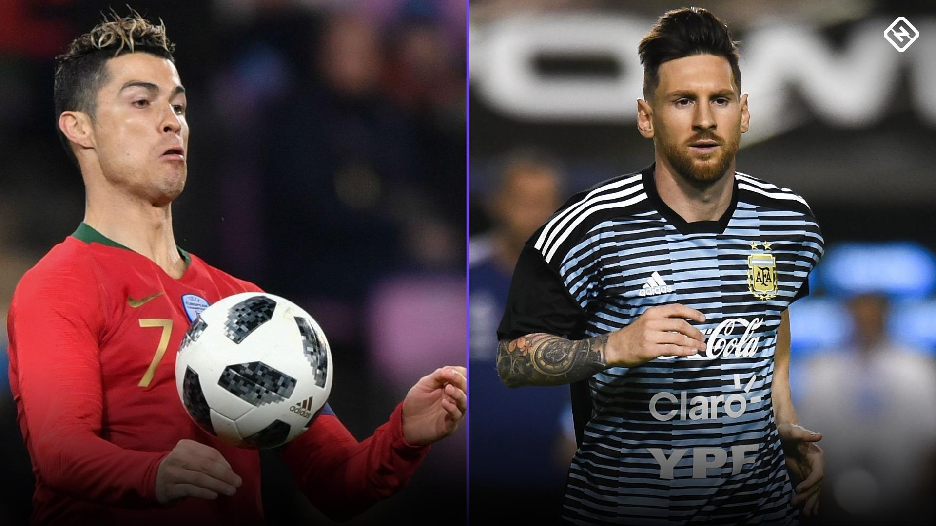 Ronaldo vs. Messi ftr