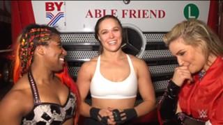 WWE ロウ スイス ロンダ・ラウジー