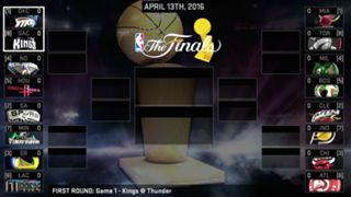 NBA 2K16 playoff bracket