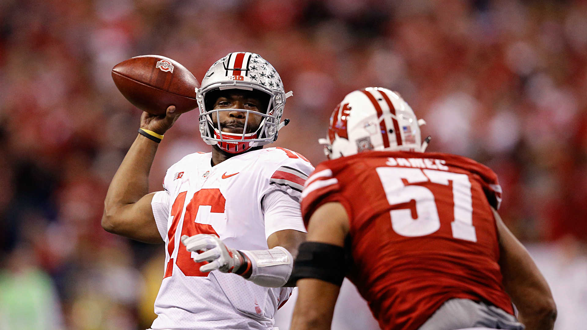 Big Ten championship: J.T. Barrett, Ohio State still standing after win vs. Wisconsin
