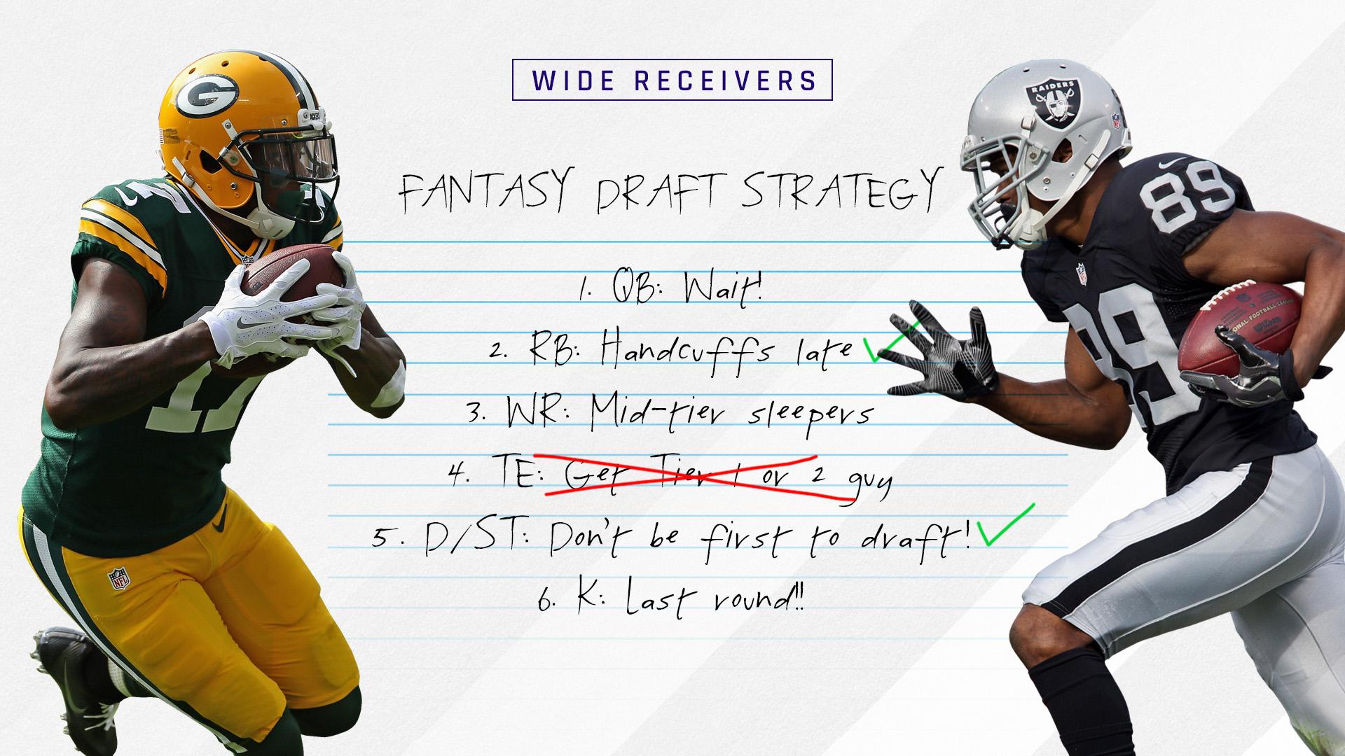 2017 Fantasy Football Rankings Tiers: Wide receiver draft ...