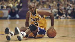 Nick Van Exel 98 Lakers - 072615 - Getty - FTR
