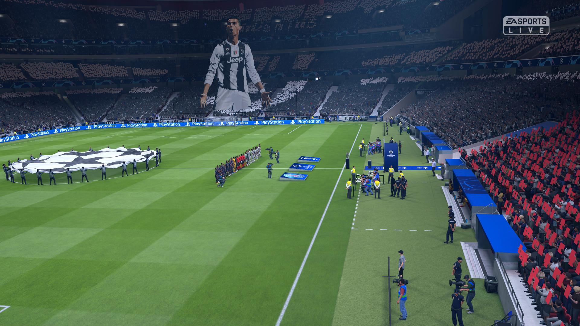 FIFA 19 Champions League Cristiano Ronaldo
